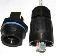 free shipping Industrial Plug Kit rj45 adapter