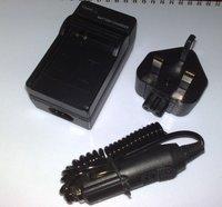 Camera Battery Charger for Panasonic DMW-BCE10 BCE10E FX33 FS3 UK US AU EU PLUG