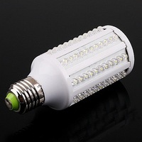 10pcs/lot 7W E27 White 360 Degree 6500K 126 LED Corn Light Bulb Energy Saving Lamp, Free Shipping, Wholesale
