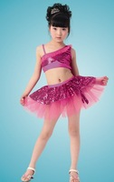 Free shipping/2011 fashion children dress /moden children dance costume/dance costumes/stage dress