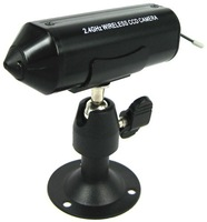 Freeshipping+Guaranteed 100% +2.4 GHz Wireless Bullet CCD Camera with Min 100m Transmission Distance