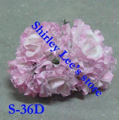 Scrapbook Paper Flower