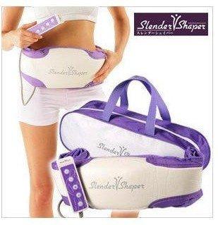 free shipping 1pcs Slender Shaper, Slimming belt, Massage belt fat burning oscillating slim belts NIB