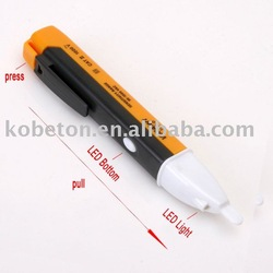 2pcs/lot Non contact AC Electric Voltage Detector Sensor Tester Pen 90~1000V Pen Designed For Electrical Testing Free Shipping(China (Mainland))