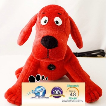 Wholesale price Fashion Plush dolls Cute Red Dog Woody Webcam Toys PC