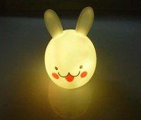 Free shipping Kids light Wholesale Valentine's Gifts LED Flashing Rabbit Light 1pc/box 50pcs/lot Fast delivery