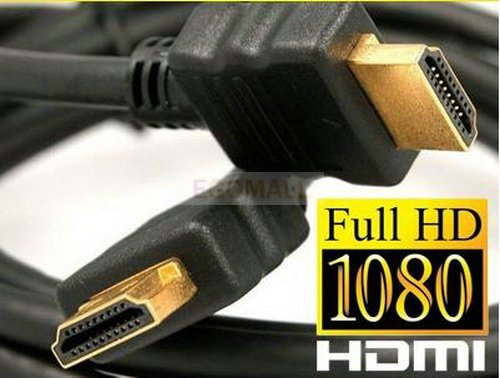 Free shipping 10FT 3M Premium 1.3 Gold HDMI Cable for 1080p PS3 HDTV LCD 1pcs(China (Mainland))