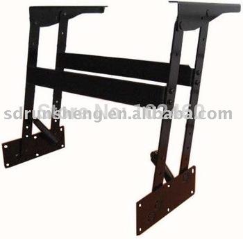 adjustable metal table parts, coffee table frame