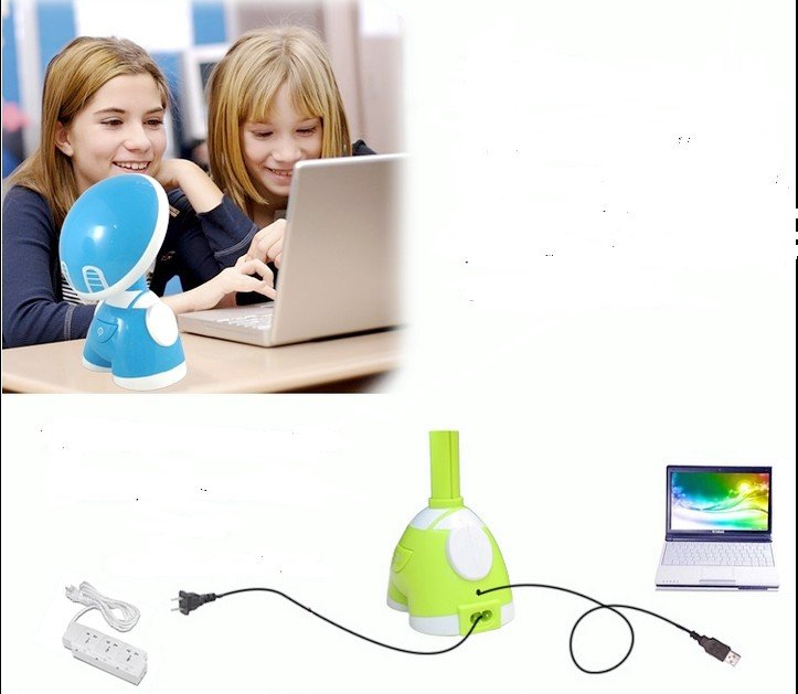 Colorful Cool Kid Boy Desk Reading LED Lamp Light 15 LEDs(China (Mainland))