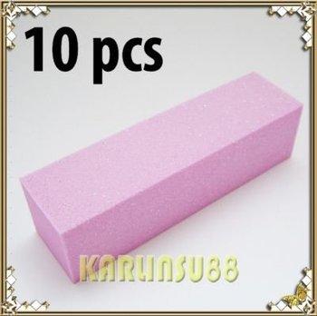 FREE SHIPPING 10x Nail Art Sanding Block File Acrylic Gel UV Pedicure K382