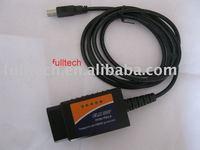 professional diagnostic tool ELM327 USB (plastic) 1.5