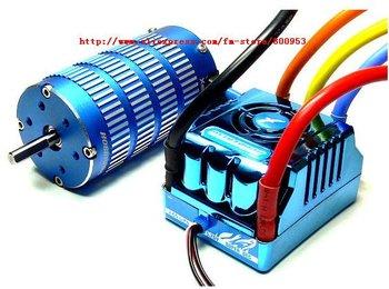 Brand New XERUN Sensored Motor 4274SD Motor & 150A ESC + LCD Card ME240 Xerun COMBO-M6A 4274SD Sensored Motor 150a ESC Blue