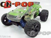 free shipping 1:16 Scale RC gas truck 4WD nitro gas RC car Radio Remote Control model car toys