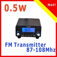 hot CZH-05B 0.5w Fm transmitter PLL 76-108Mhz radio Broadcast kit