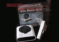 5pc/lots brand new great fun Laser Gun Target Alarm Novelty Clock +FREESHIPPING