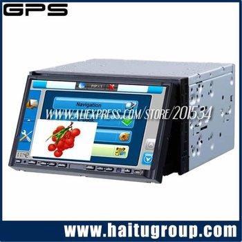 "Free shipping CD/MP3/FM/TV/GPS/BT Car DVD Player 7"" Touch-Screen"