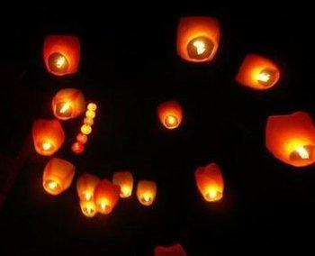 Sky Lanterns, Wishing Lamp SKY CHINESE LANTERNS BIRTHDAY WEDDING PARTY 100pcs/lot