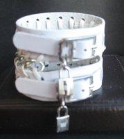 Fashion Real Leather  Bracelet, Leather Bangle Punk  cowboy Style