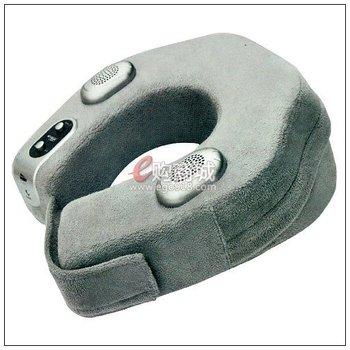 Free shipping!U shape Musical Neck Massage pillow  Vibration Massage mattress,Massage pillow