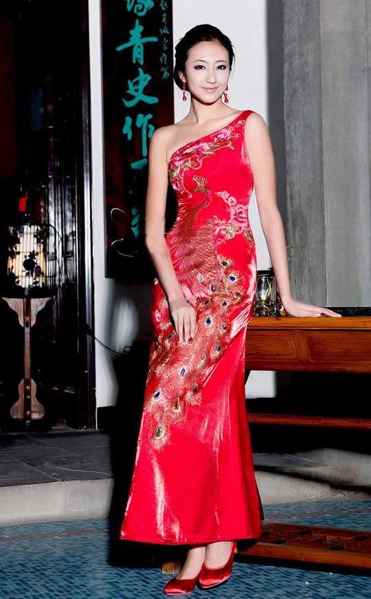 New design women evening dress lady cocktail dress chinese dress