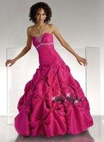 P1206*Strapless A-line Evening Dress