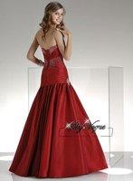 P1310*Strapless A-line Evening Dress