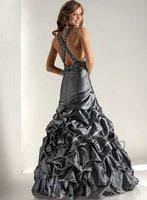 P1329*Halter A-line Evening Dress