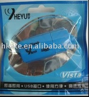 free shipping 50pcs/lot Mini USB 2.0 micro sd card reader usb+TF/Micro SD Adapter dg001