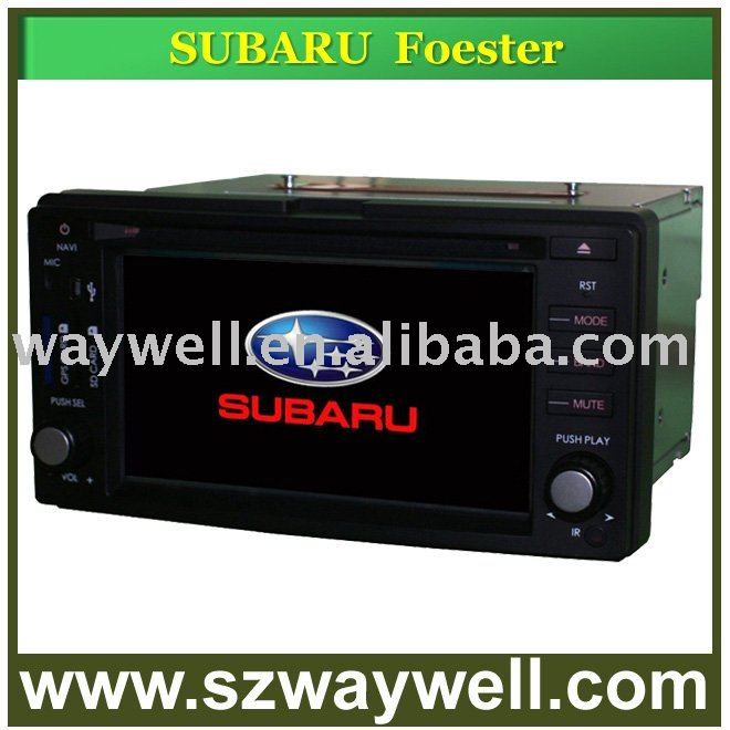 SUBARU FORESTER Car DVD GPS Navigation Bluetooth Radio IPOD Touch Screen Video Audio Player(China (Mainland))