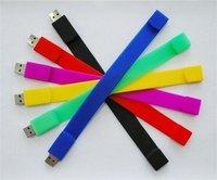 U disk Wristband  Creative U disk 8GB 4GB 2GB   Seven colors