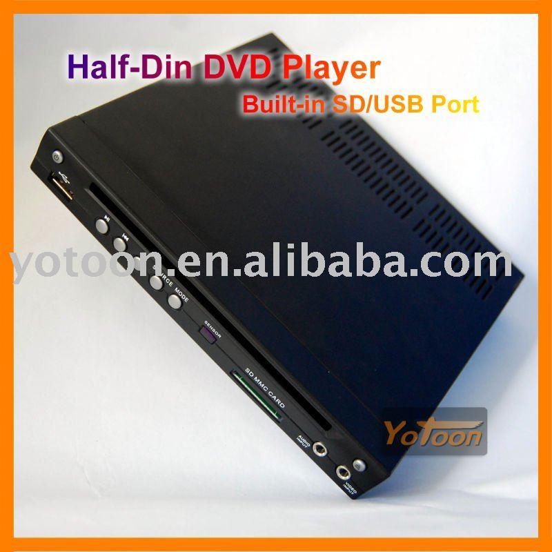 China Manufacture - Car HALF DIN DVD/CAR 1/2 DIN In-Dash DIVX/MP3/CD/DVD Player+USB/SD Slot CAR HALF-DIN DVD CAR 1/2 DIN DVD(China (Mainland))