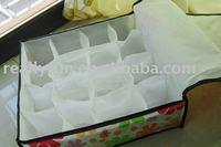 free shipping 16 grids underwear storage box, socks storage box, 10pcs/lot