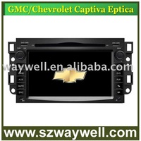 Chevrolet Captiva Car DVD GPS Navigation Bluetooth Radio IPOD Touch Screen Video Audio Player