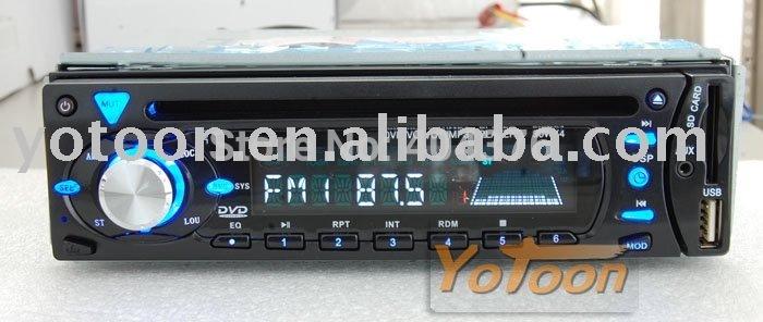 1 din car dvd player,Singel Din Detachable Front Panel CAR DVD/CD/MP3/USB/SD CARD AM/FM PLAYER+AUX INPUT(China (Mainland))