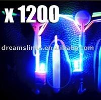 1200 Newest toy LED Amazing Flying umbrella Flashing Color Changing LED helicopter flying umbrella OPP BAG CARD