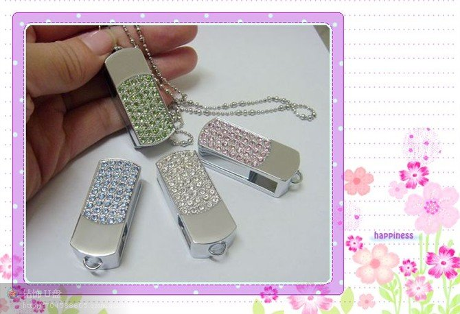 1GB/2GB/4GB/8GB/16GB Jewelery promotional usb flash drive (Free shipping for more than 30pcs)(China (Mainland))