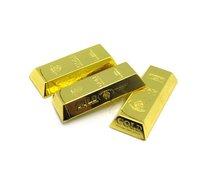 Novelty gift Gold Bar Nugget Butane Gas Refillable Lighter gas lighter flame lighter