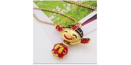 free china postal shipping fashion design bridgegroom, bridge character necklace(China (Mainland))