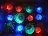 kid toys flash ball led elastic crystal bouncing colorful Jumping CN post