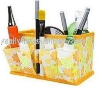 Free shipping /Yellow, pink, blue non-woven Cosmetic storage box,ladies' dressing cases cosmetic box