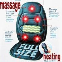 Walmart Car&Chair Back Seat massage Heated Cushion