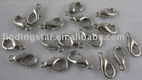 FREE SHIPPING 500PCS Nickle plated lobster clasps 14mm M362