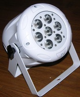 LED PAR56 DMX 7*3W stage light;