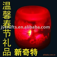 Chinease New Year gifts, LED candles, New Year gift, free shipping for Chinese New Year gifts