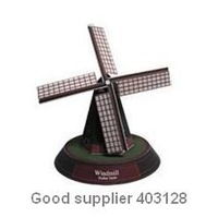 Free shipping, wholesale, resales, gift, diy toy, Famous architecture in the world, Windmills in the Netherlands, 3D Paper model