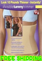 free EXPRESS shipping! Invisible Tummy Trimmer New Slimming Belt As Seen On TV 50pcs/lot