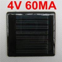 20pcs/lot Mini solar panel 4V 60mA 0.24W solar power 2.4v battery fast shipping