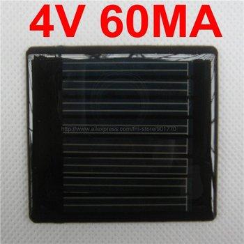40pcs/lot Mini solar panel 4V 60mA 0.24W solar power LED's(3v 20ma) best fast shipping