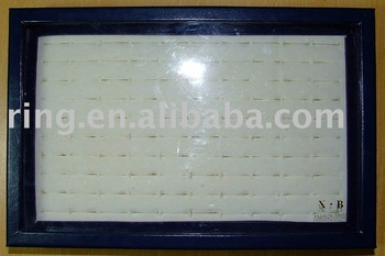 Wholesale lots Blue Ring Display Box / Tray -- Hold 100 rings