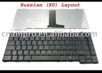 Notebook keyboard / Laptop keyboard for Toshiba Satellite L300 A200 A205 M200 M205 M300 Black (matt)  RU*  - MP-06866SU-9304